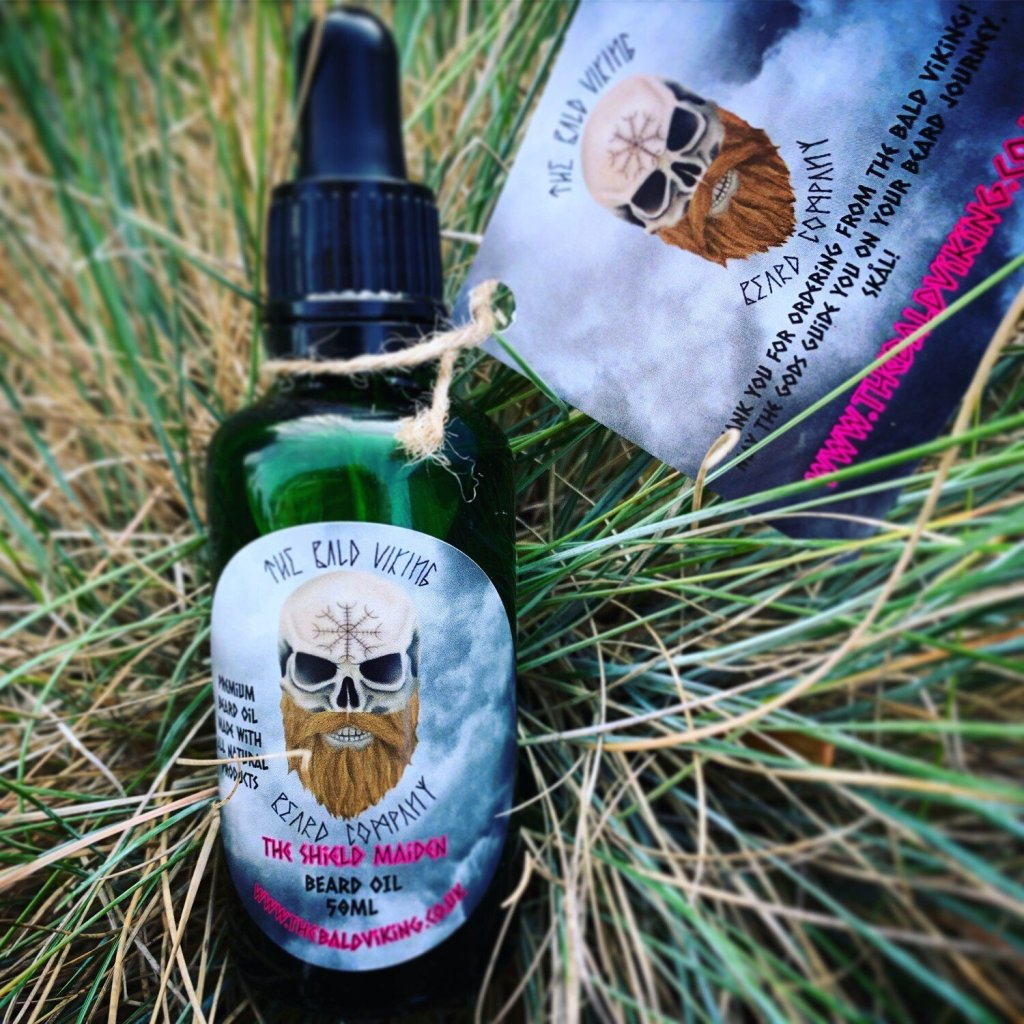 Review of The Bald Viking Beard Company Shield Maiden Beard Oil