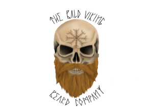 The Bald Viking Beard Company logo