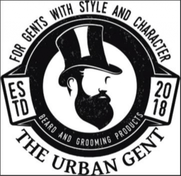 The Urban Gent logo on www.satonmybutt.co.uk