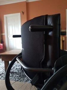 RGK Chrome wheelchair back