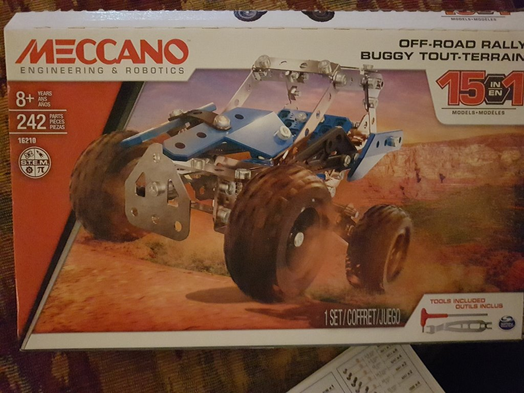 Meccano 15 in 1 Off Road Rally kit