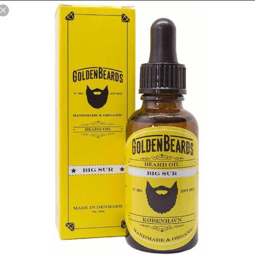 Golden Beards Big Sur Beard Oil
