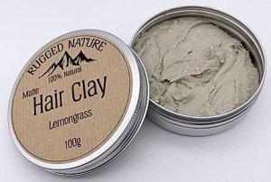 Rugged Nature Lemongrass Hair Clay review