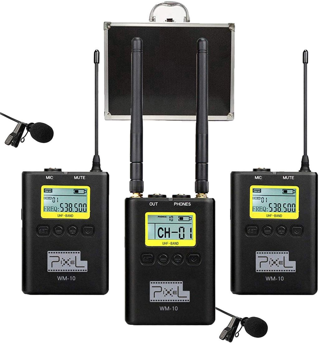 Review of the Pixel WM-10 UHF Wireless Lavalier Microphone System