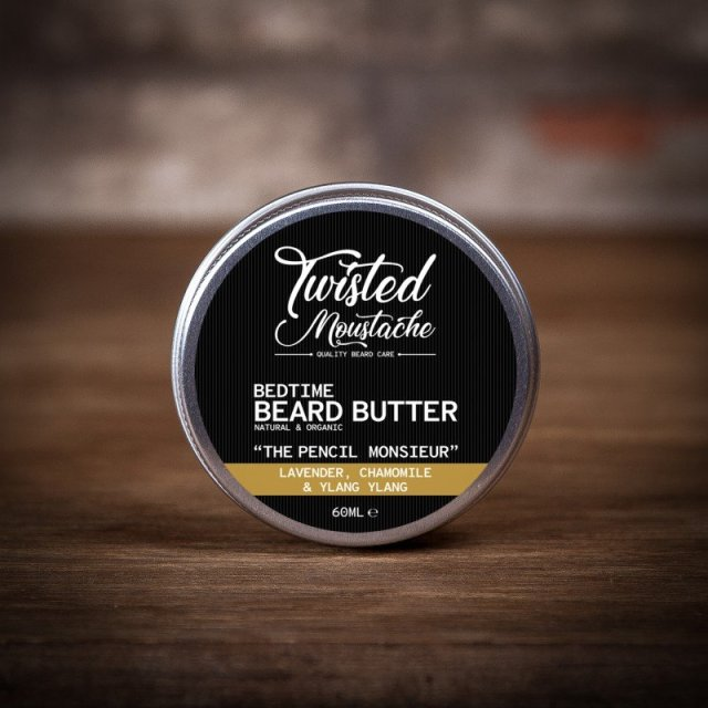 Review of the Twisted Moustache Bedtime Beard Butter