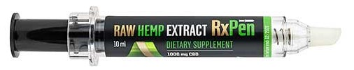 Raw Hemp Extract RxPen from Reakiro