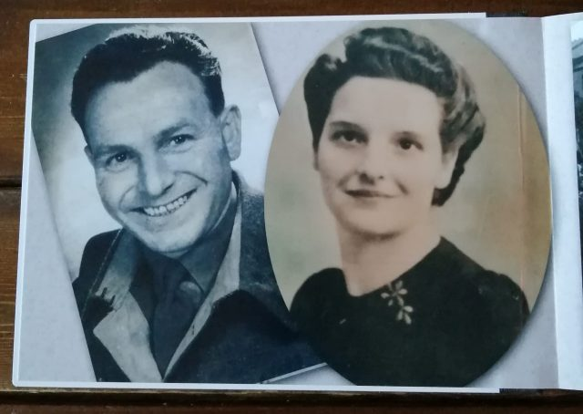 My Nan and Granddad, Sidney Arthur Richardson and Elsie Butler