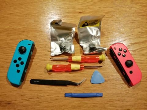 Nintendo Switch Joystick drift repair