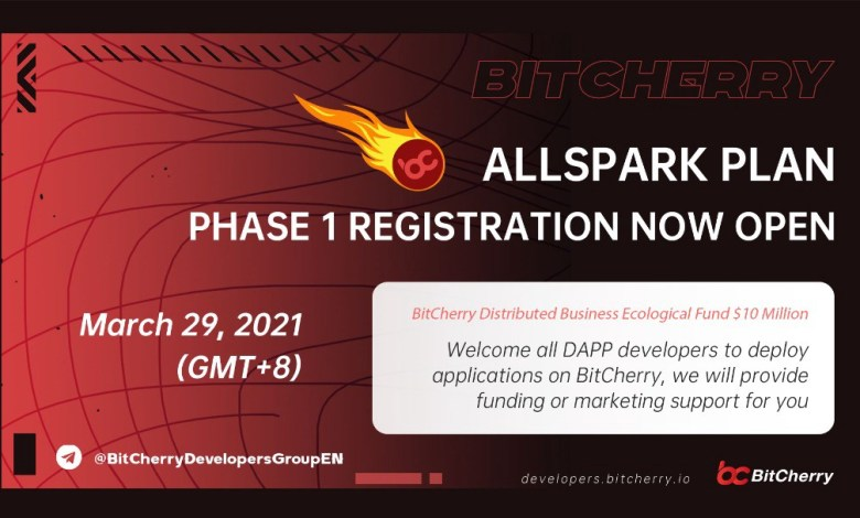 """أطلق مسؤول BitCherry """"خطة All Spark"""" لإنشاء صندوق دعم بيئي خاص بقيمة 10 ملايين دولار"""
