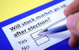 Will the stock market go up after the Presidential election?