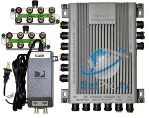 SWM16 Single Wire MultiSwitch (16 Channel SWM) from DIRECTV SWM16 multiswitch