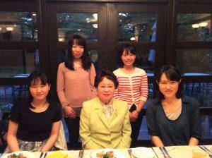 遠山敦子さんと本企画主催の学生達
