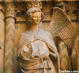 Angel at Notre Dame Cathedral