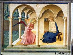 The Annunciation, by Fra Angelico