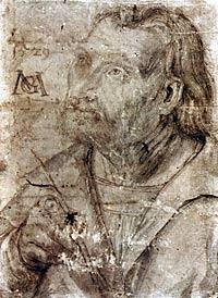 Matthias Grünewald, self-portrait