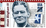 US stamp homoring Hiram Bingham IV
