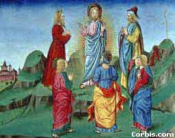 The Transfiguration, from the Predis Codex