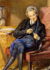 detail of portrait of William Wilberforce
