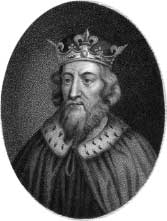 portrait of Alfred the Great