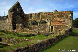 The midieval nunnery at Iona