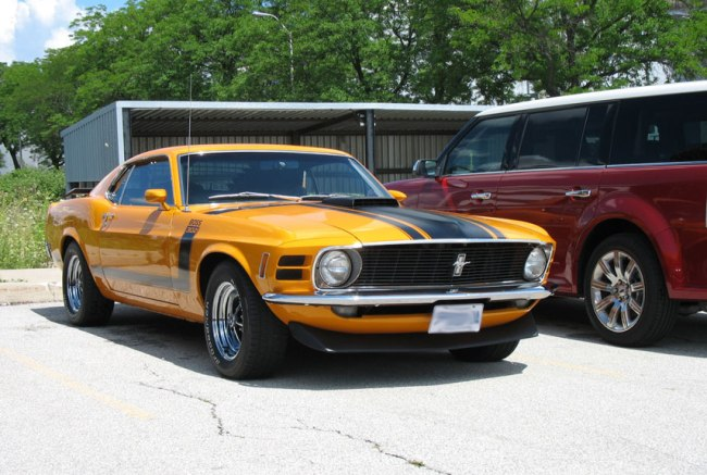 Ford Boss 302 Mustang (1969-1970)