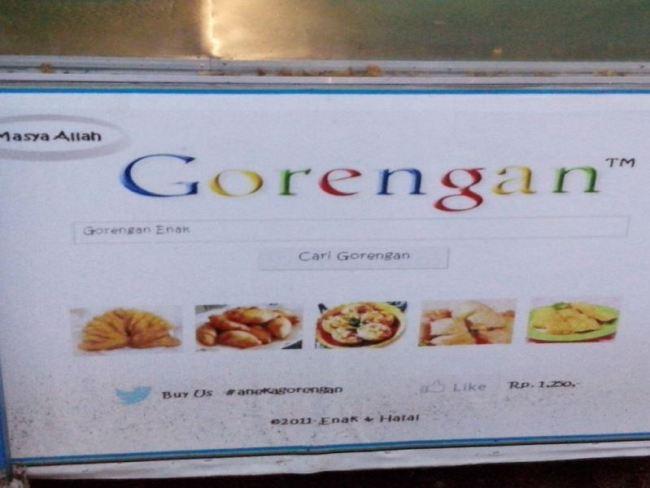 Google - Gorengan