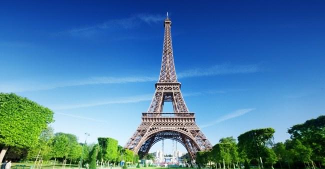 Bahan untuk Menara Eiffel