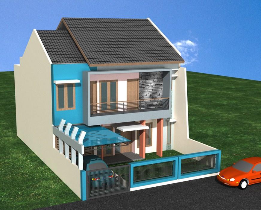 Model Rumah Minimalis - Model Rumah dengan Halaman Depan Minimalis