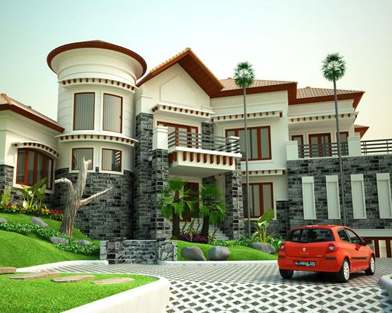 kumpulan rumah mewah