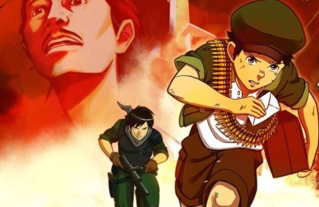 animasi Battle of Surabaya