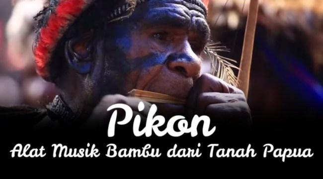 alat musik asli indonesia pikon