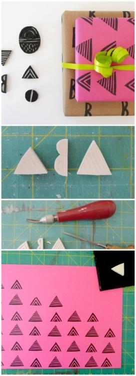 cara membuat bungkus kado