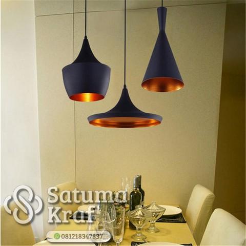 kerajinan lampu gantung modern cocok untuk cafe restoran maupun rumah
