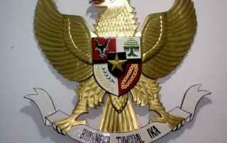 Harga lambang garuda kuningan