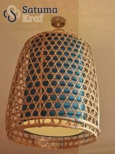 Lampu Kuningan Anyaman