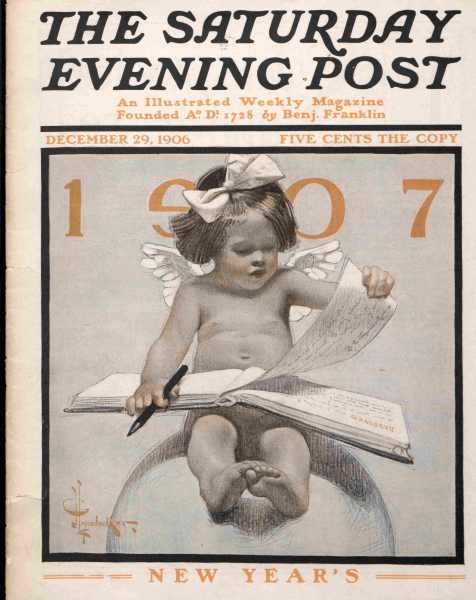 New Years Babies The Saturday Evening Post