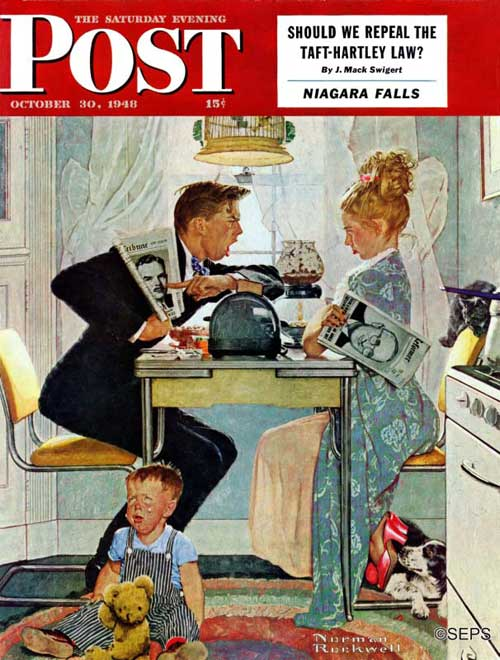 A Rockwell Fathers Day The Saturday Evening Post
