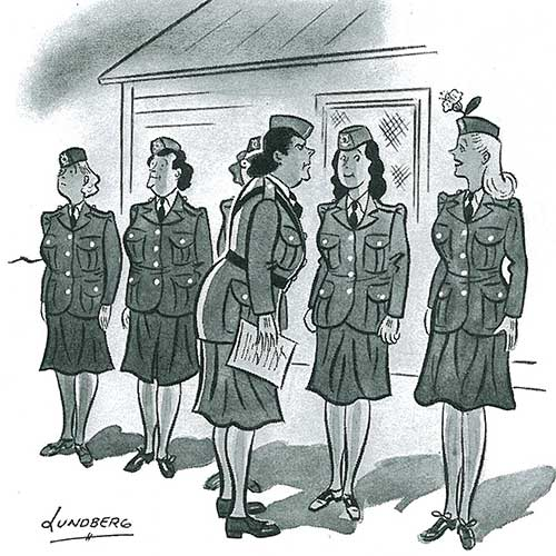 Cartoons: World War II   The Saturday Evening Post
