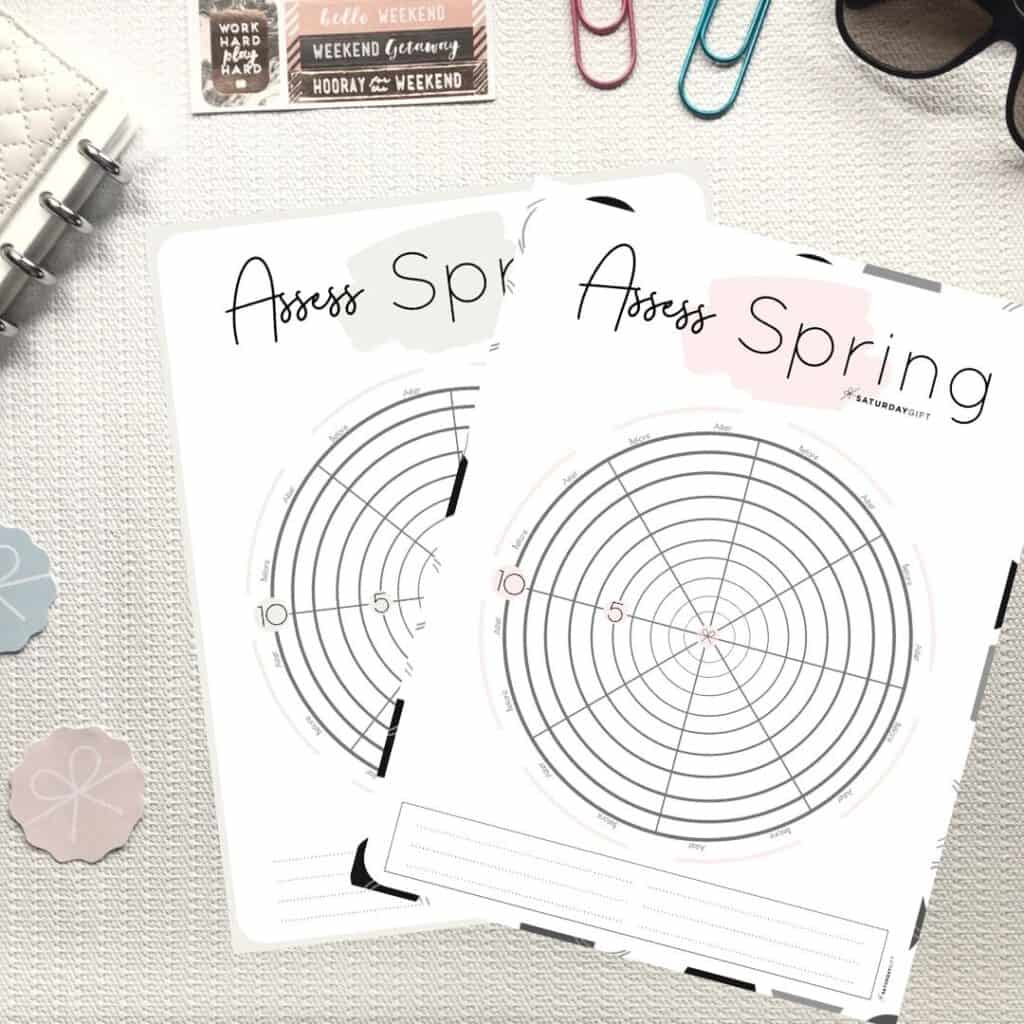 How To Assess Your Life With The Spring Wheel Of Life