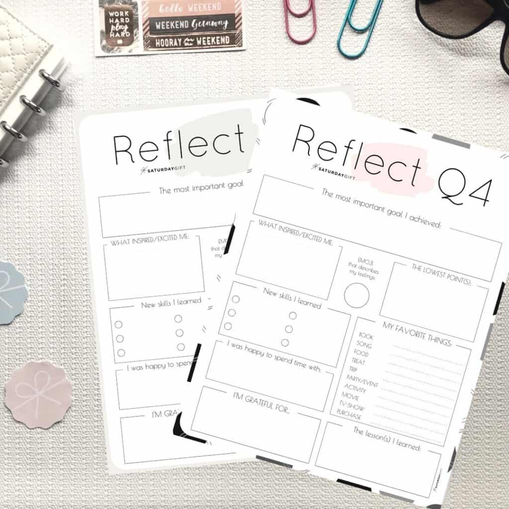 How To Review Your Life With The Q4 Quarter Four