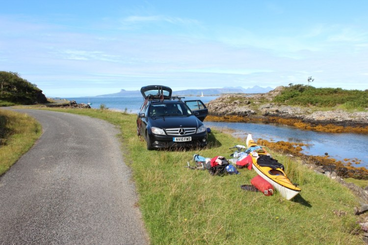 Getting ready to set off for Eigg