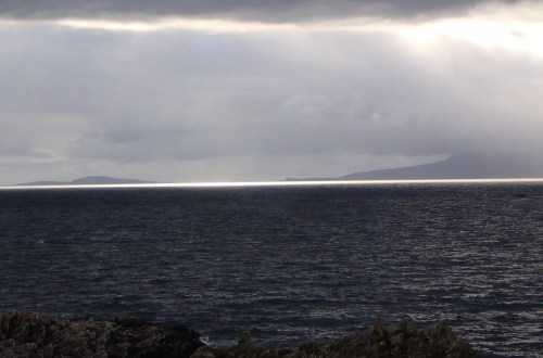 View across to Muck and Eigg