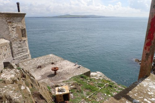 Looking across to Anglesey
