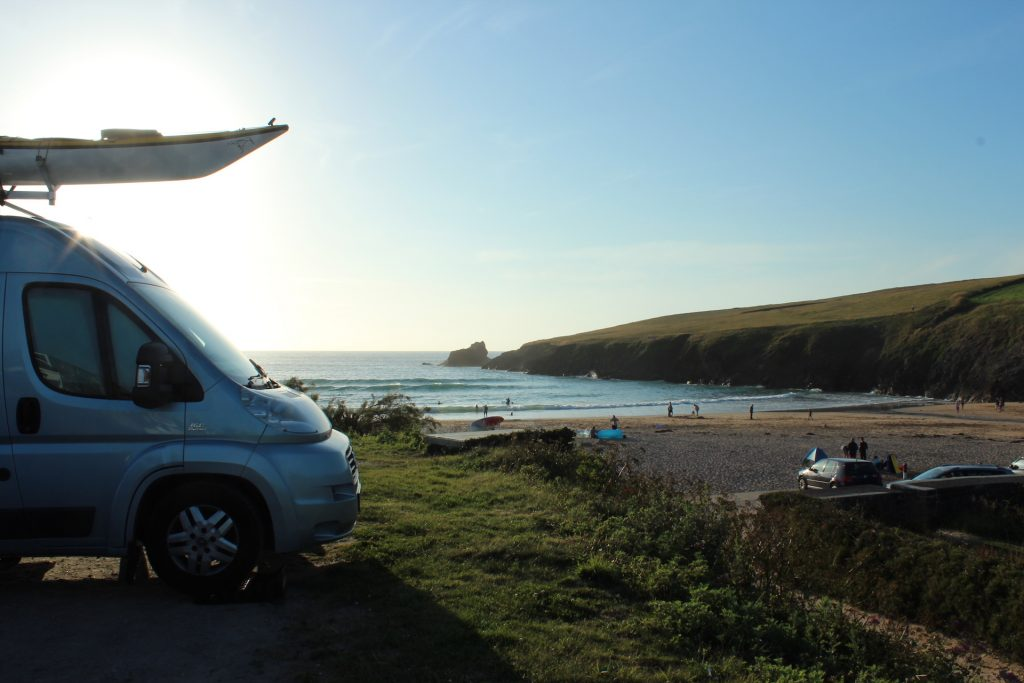 Trevone to Polzeath and back