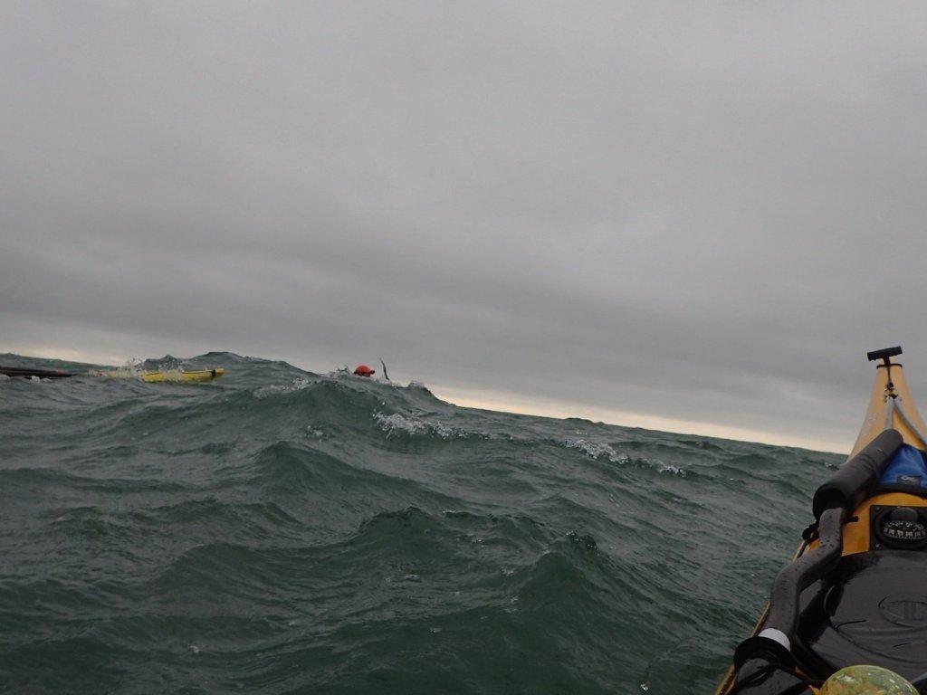 Big lumpy swell