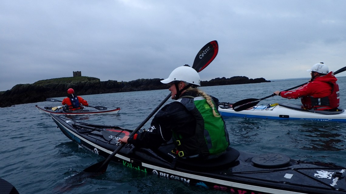 Arriving at Rhoscolyn