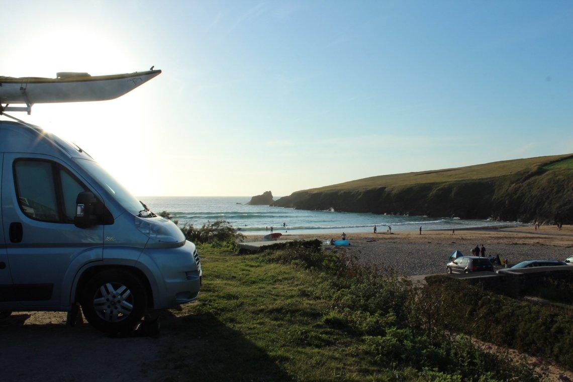 Beach Camping Trevone