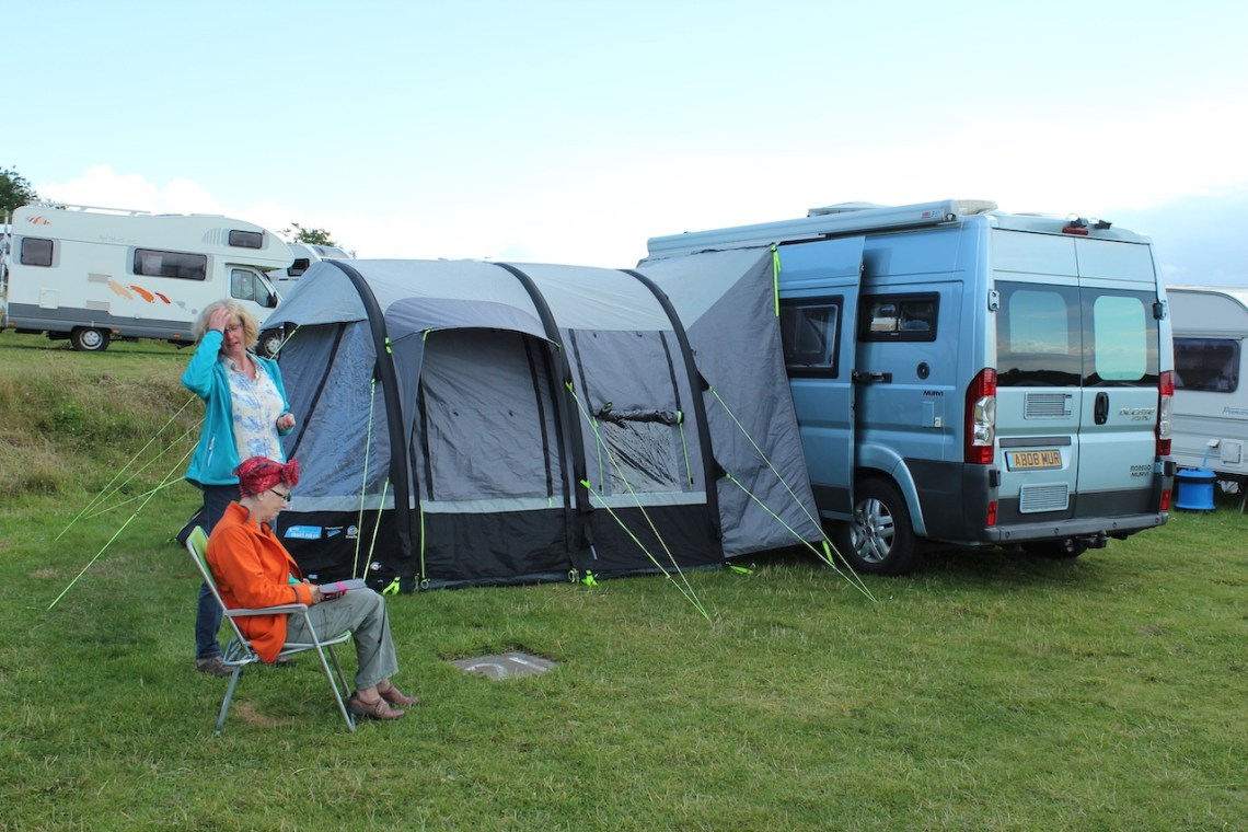 Camping with the OTM (Old Trouts Mother)