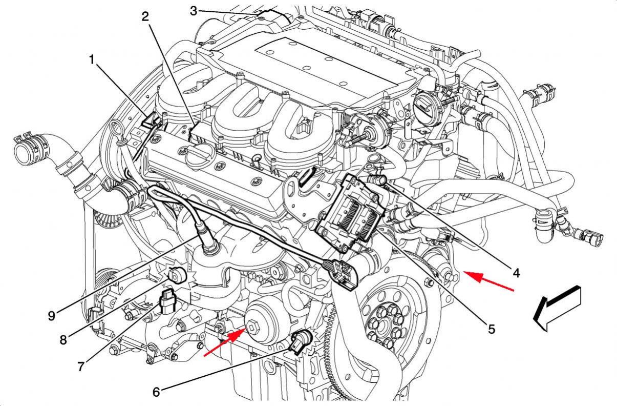2007 saturn vue engine diagram