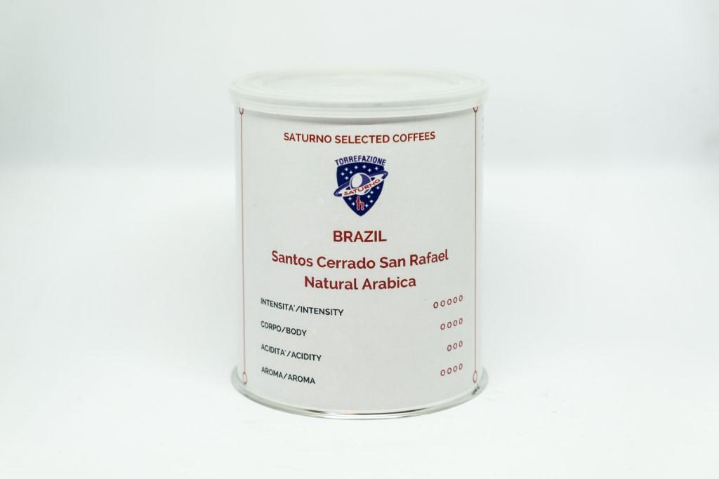 BRASIL SANTOS CERRADO SAN RAFAEL 250 g COFFEE BEANS